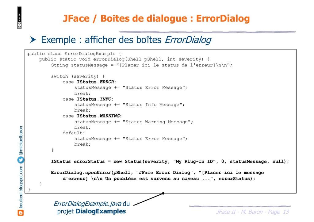 13 JFace II - M. Baron - Page keulkeul.blogspot...