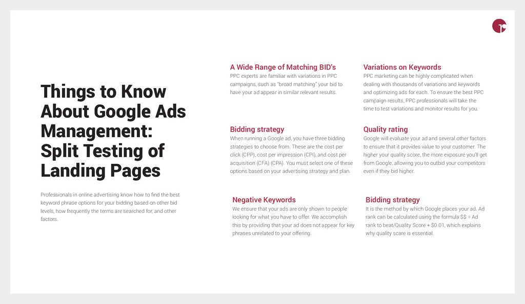 Things to Know About Google Ads Management: Spl...