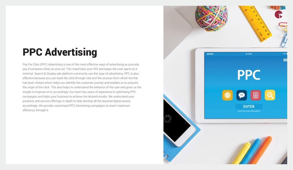 PPC Advertising Pay Per Click (PPC) Advertising...