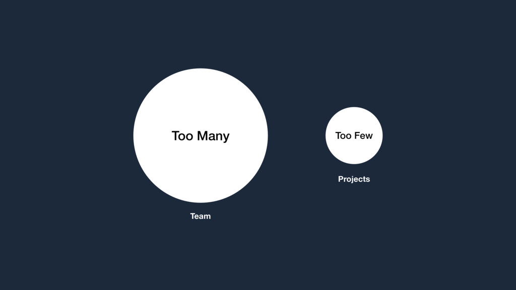 Too Many Team Too Few Projects