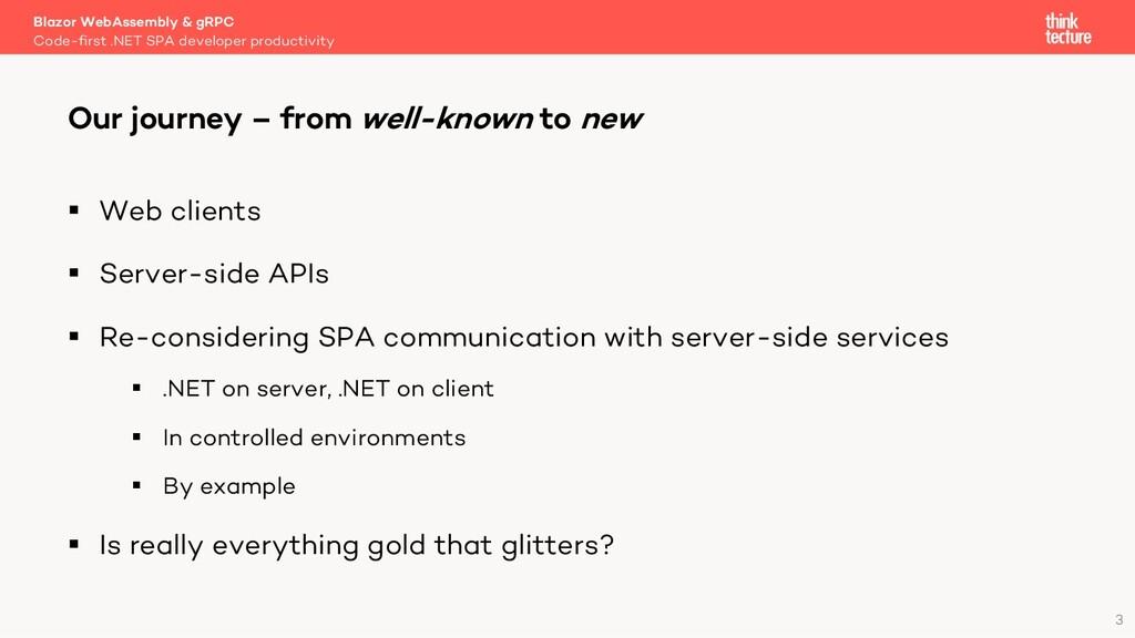 3 § Web clients § Server-side APIs § Re-conside...