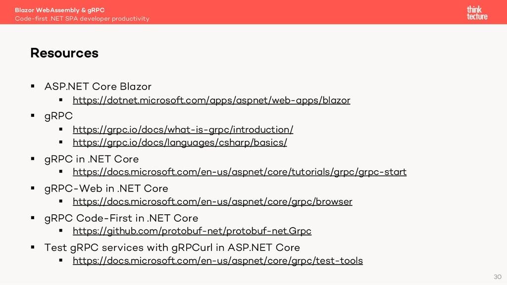30 § ASP.NET Core Blazor § https://dotnet.micro...