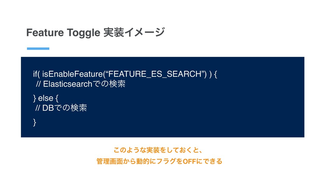 """Feature Toggle ࣮Πϝʔδ if( isEnableFeature(""""FEAT..."""