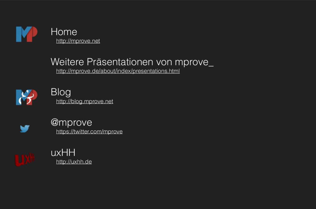 Home http://mprove.net Weitere Präsentationen v...