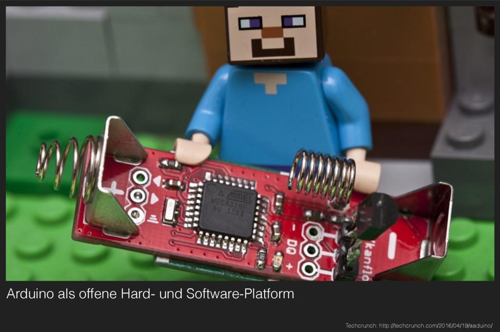 Arduino als offene Hard- und Software-Platform ...