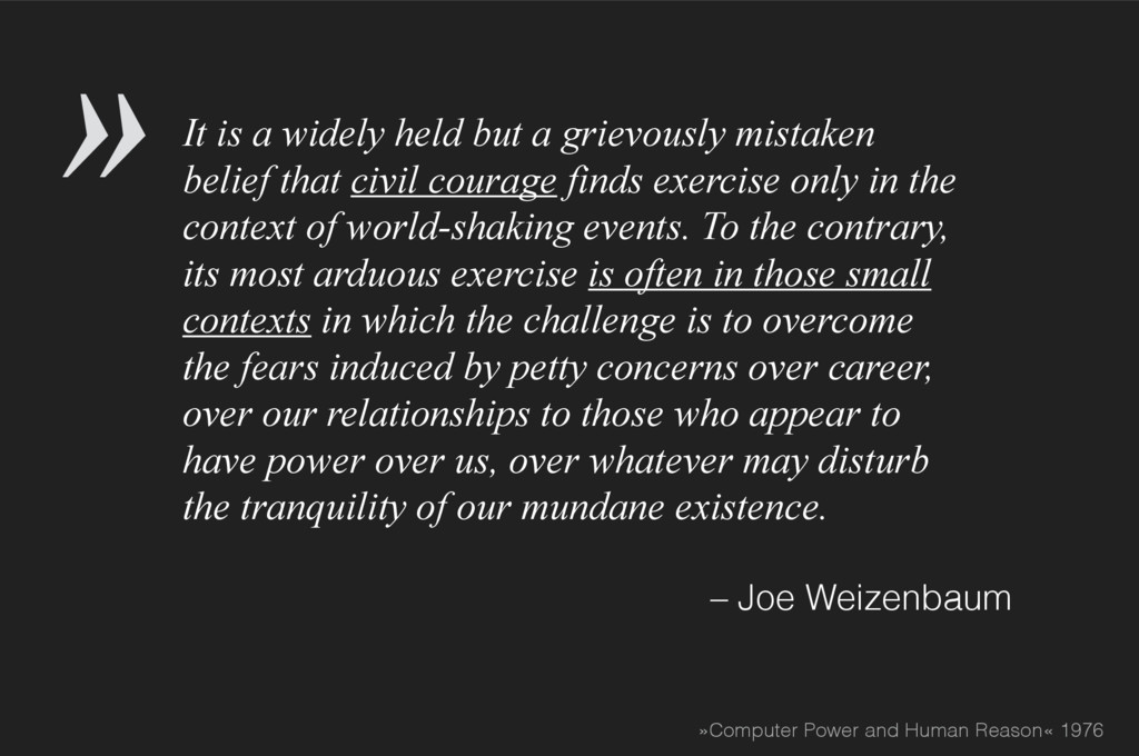 It is a widely held but a grievously mistaken b...