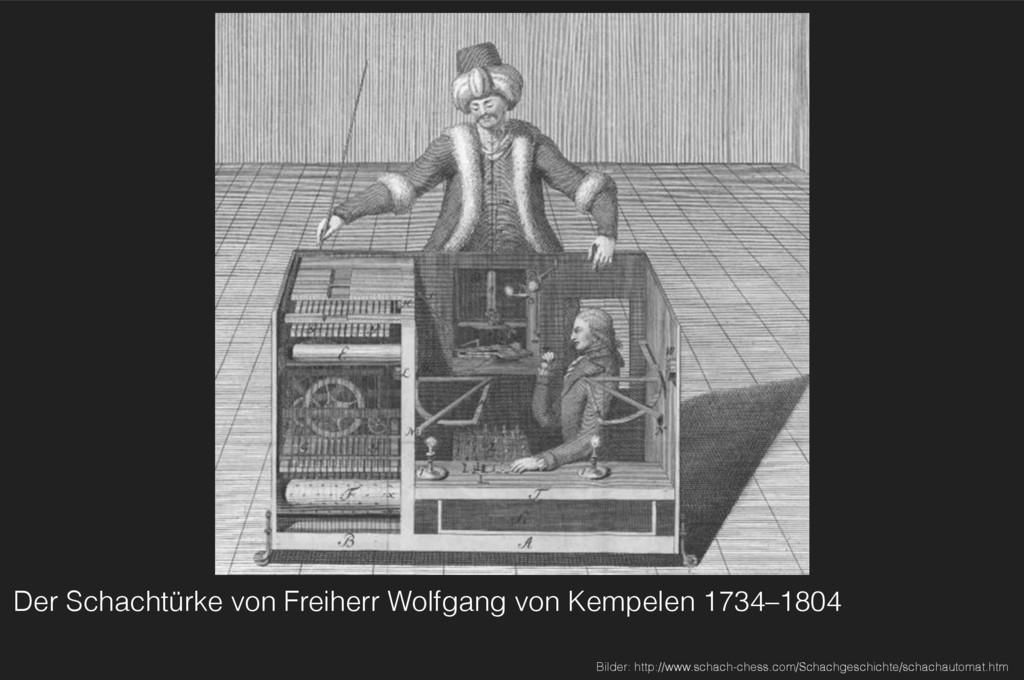Der Schachtürke von Freiherr Wolfgang von Kempe...