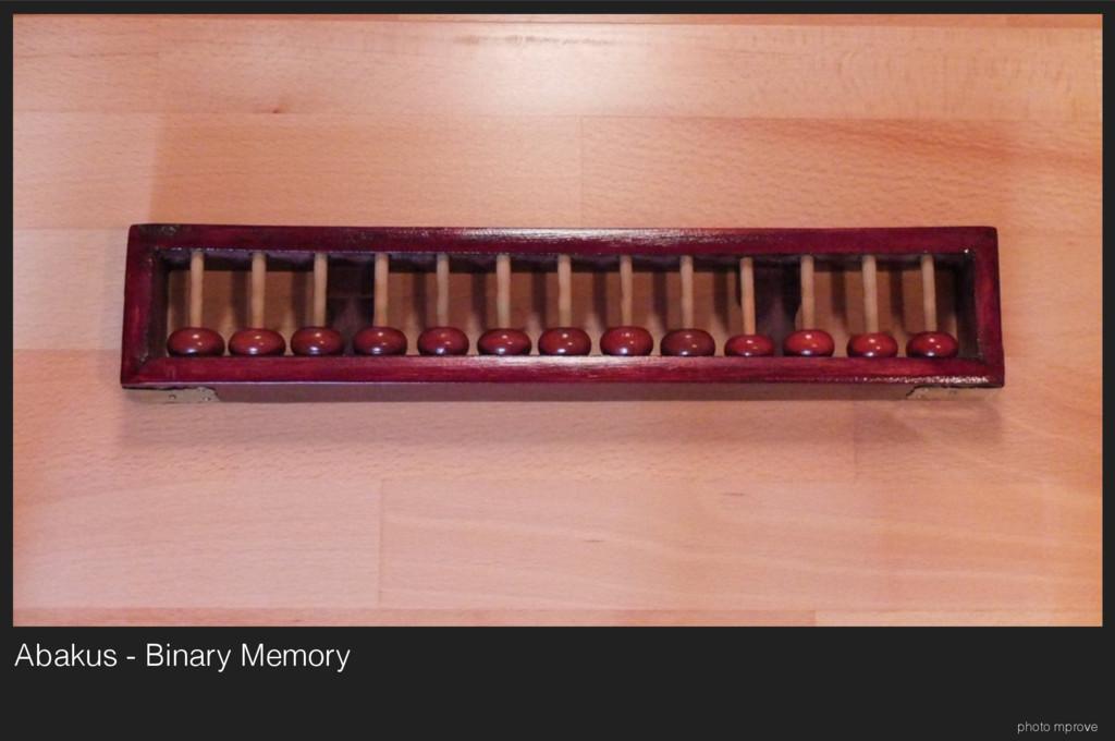 Abakus - Binary Memory photo mprove