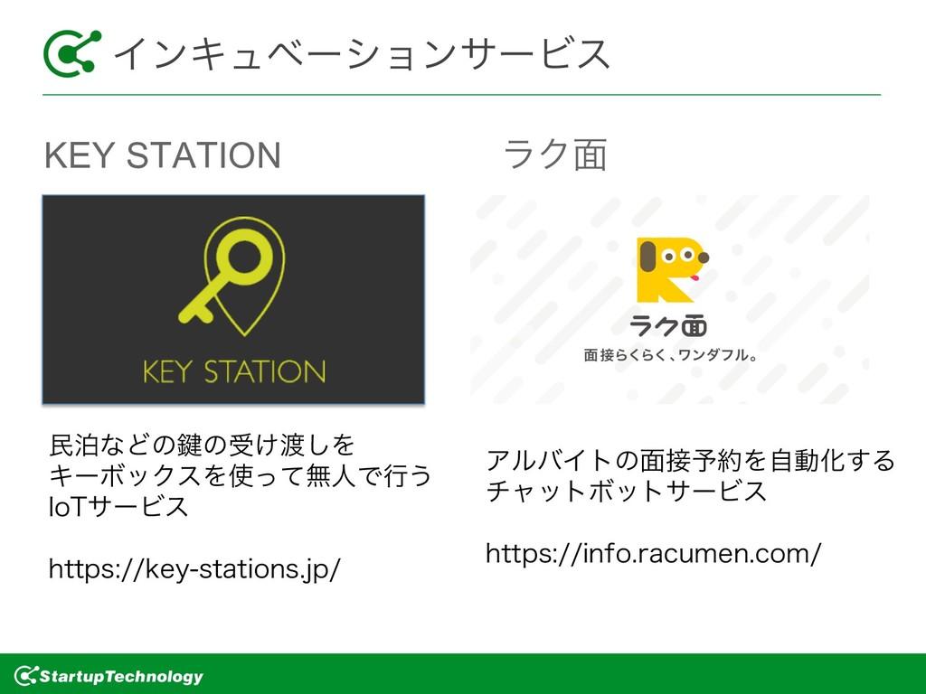 KEY STATION ϥΫ໘ ΠϯΩϡϕʔγϣϯαʔϏε ຽധͳͲͷ伴ͷड͚͠Λ Ωʔ...
