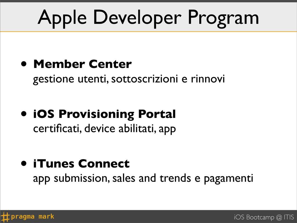 iOS Bootcamp @ ITIS Apple Developer Program • M...