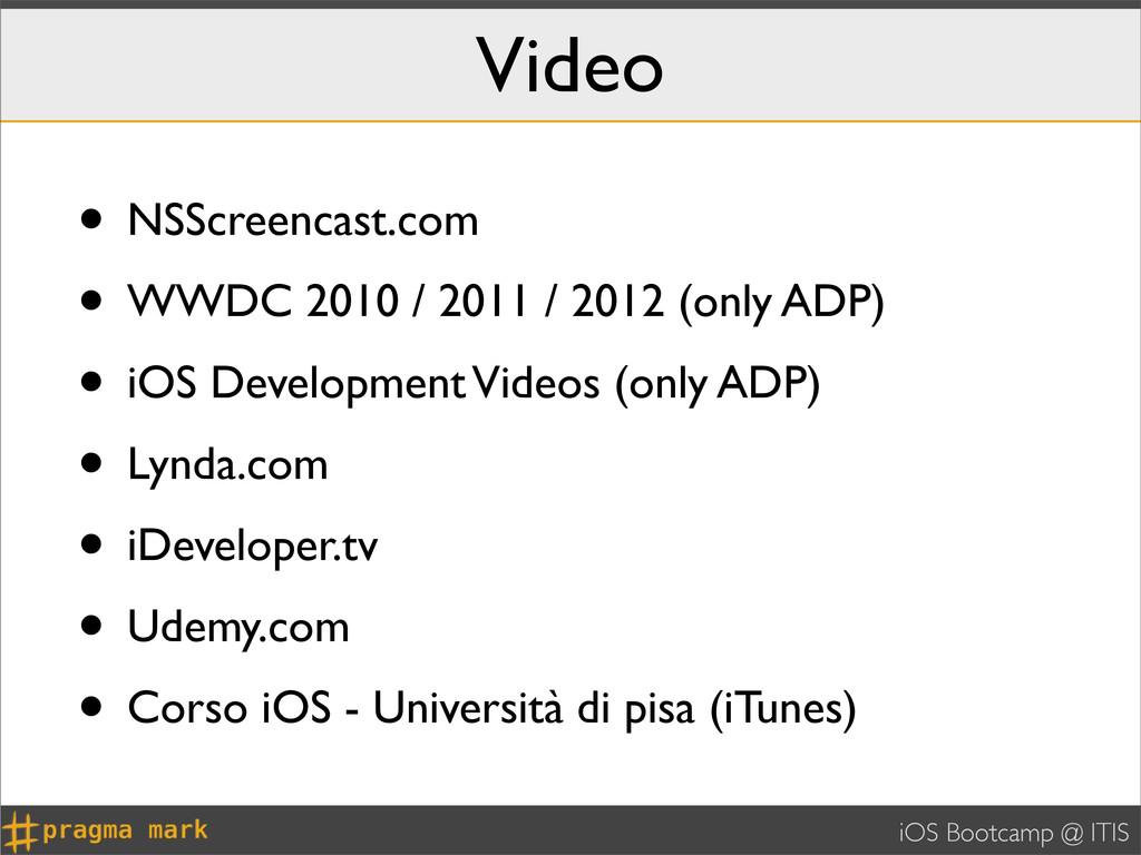 iOS Bootcamp @ ITIS Video • NSScreencast.com • ...