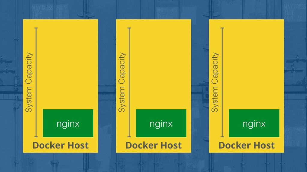Docker Host nginx System Capacity Docker Host n...