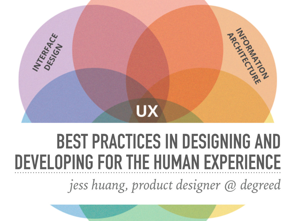 BEST PRACTICES IN DESIGNING AND DEVELOPING FOR ...