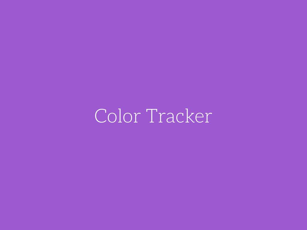 Color Tracker