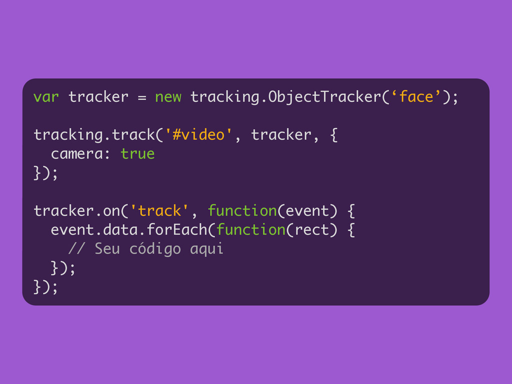 var tracker = new tracking.ObjectTracker('face'...