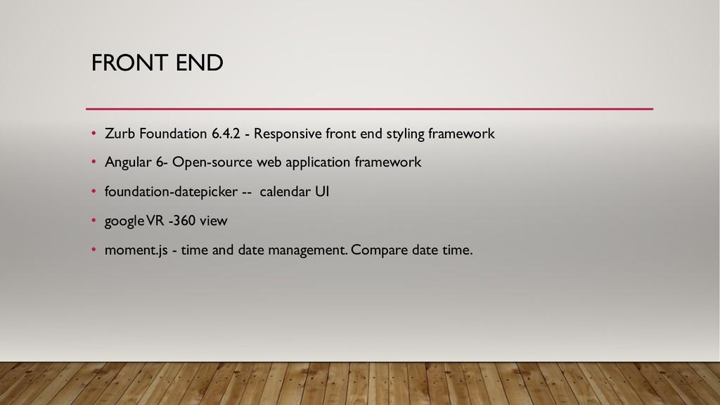 • Zurb Foundation 6.4.2 - Responsive front end ...