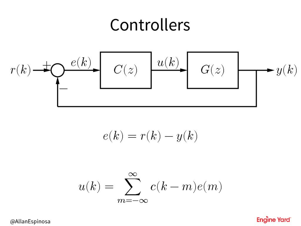 @AllanEspinosa Controllers () + () () () () () ...