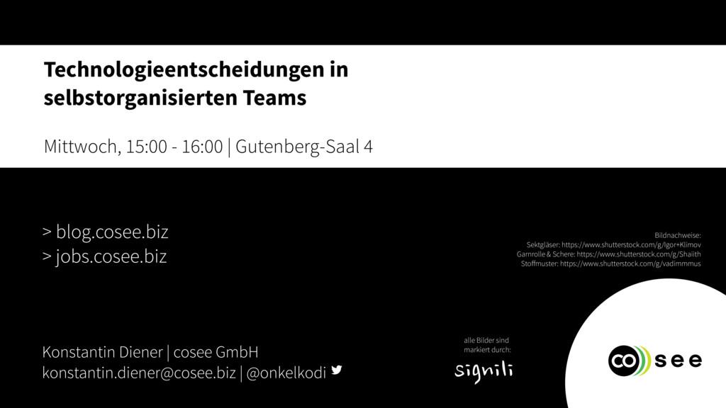 Konstantin Diener | cosee GmbH konstantin.diene...