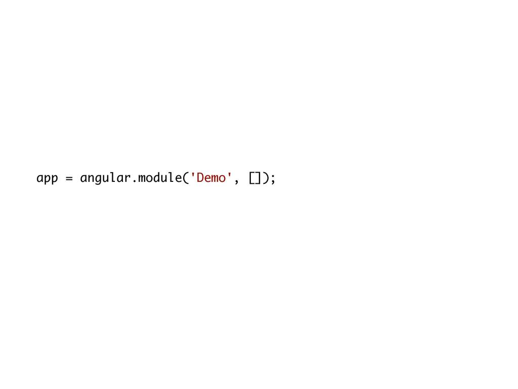app = angular.module('Demo', []);