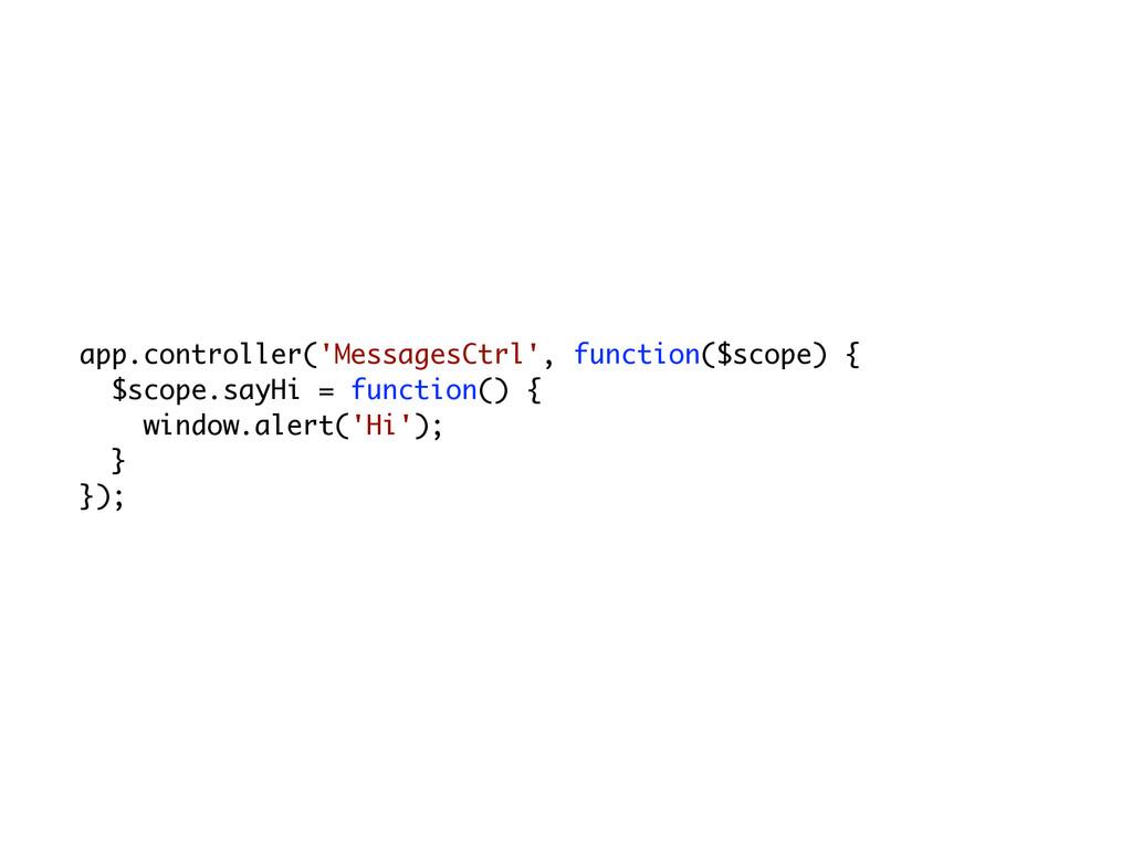 app.controller('MessagesCtrl', function($scope)...