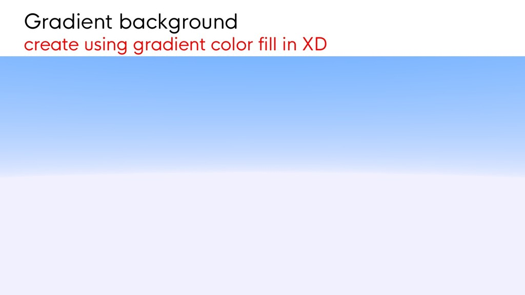 Gradient background create using gradient color...