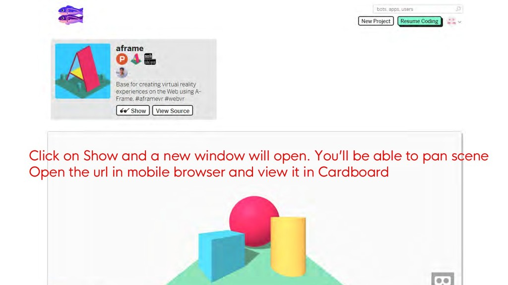 Click on Show and a new window will open. You'l...
