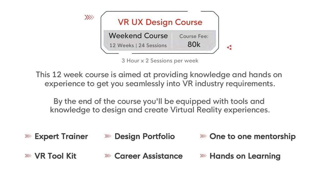 VR UX Design Course Weekend Course 12 Weeks | 2...
