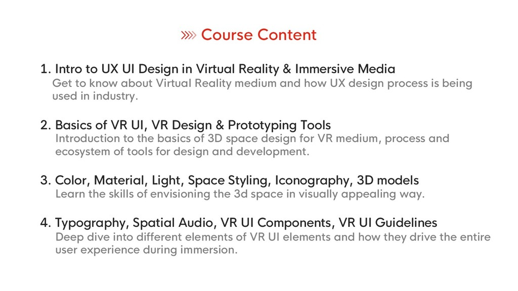 1. Intro to UX UI Design in Virtual Reality & I...