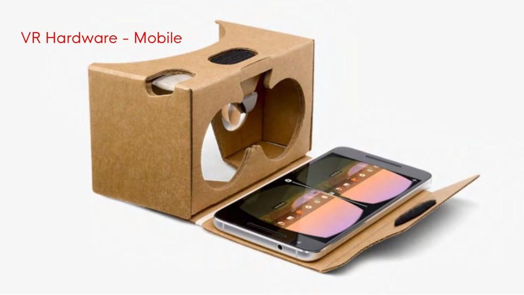 VR Hardware - Mobile