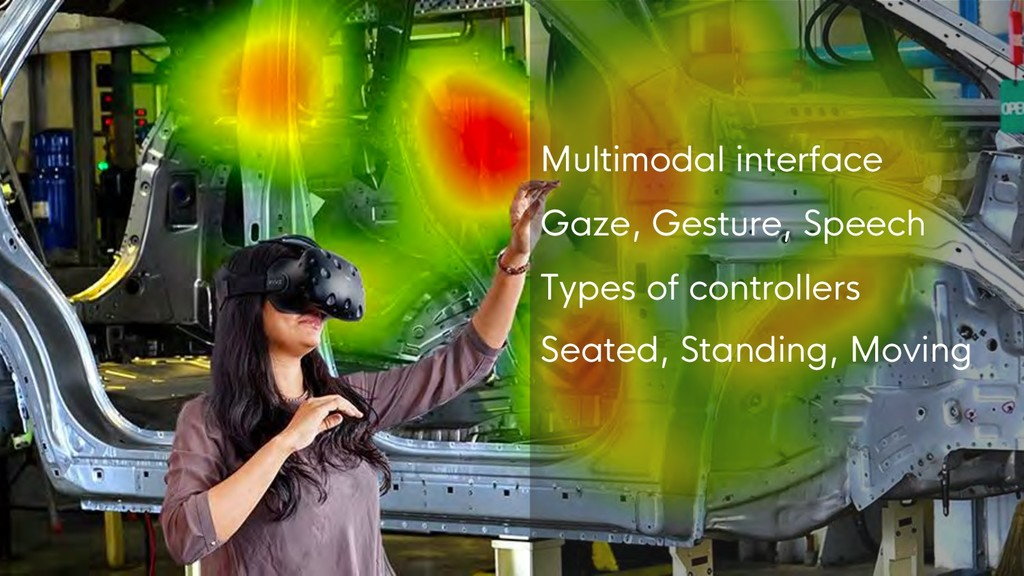 Design for VR Multimodal interface Gaze, Gestur...