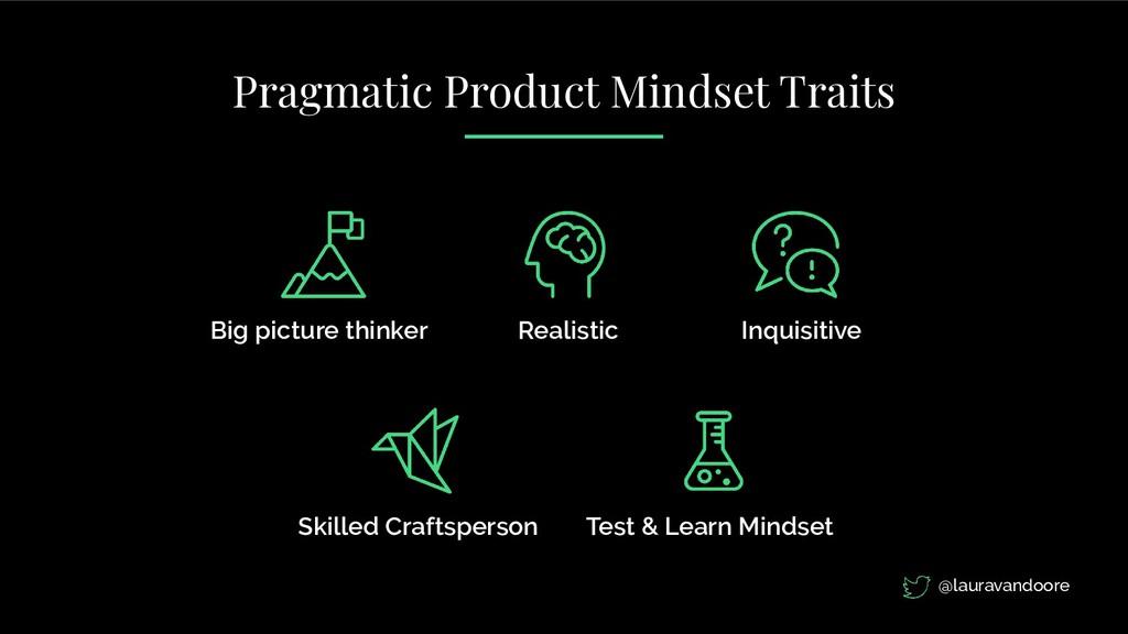 Big picture thinker Realistic Inquisitive Skill...