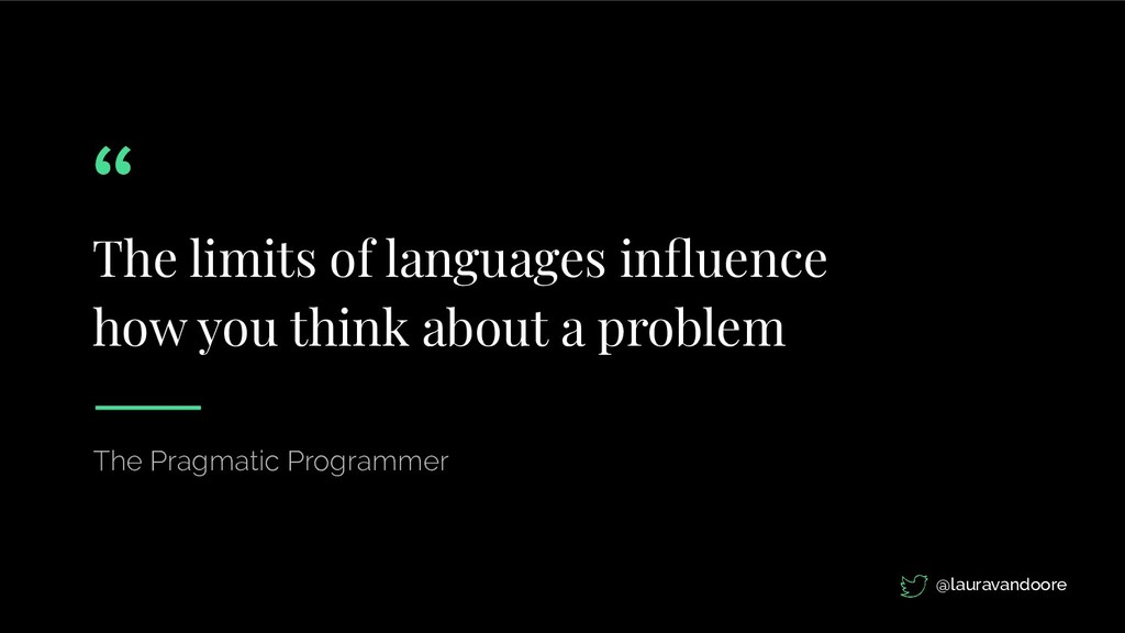 The limits of languages influence how you think ...