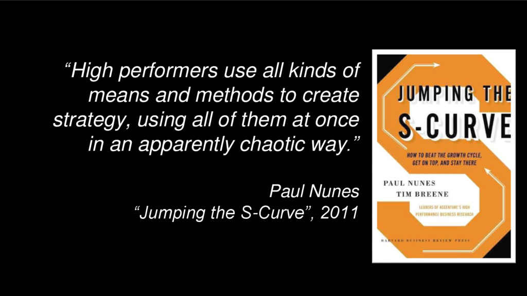 """High performers use all kinds of means and met..."
