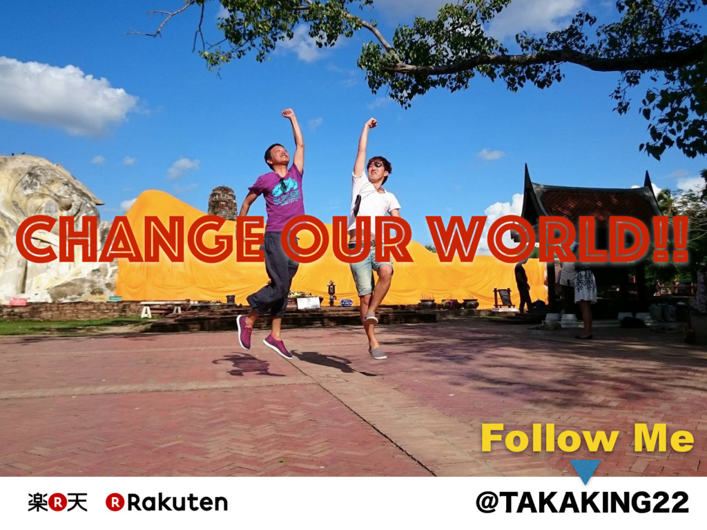 "!5"","",*/( Change Our World!! Follow Me"