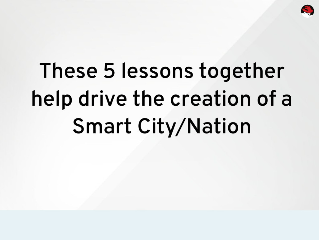 These 5 lessons together help drive the creatio...