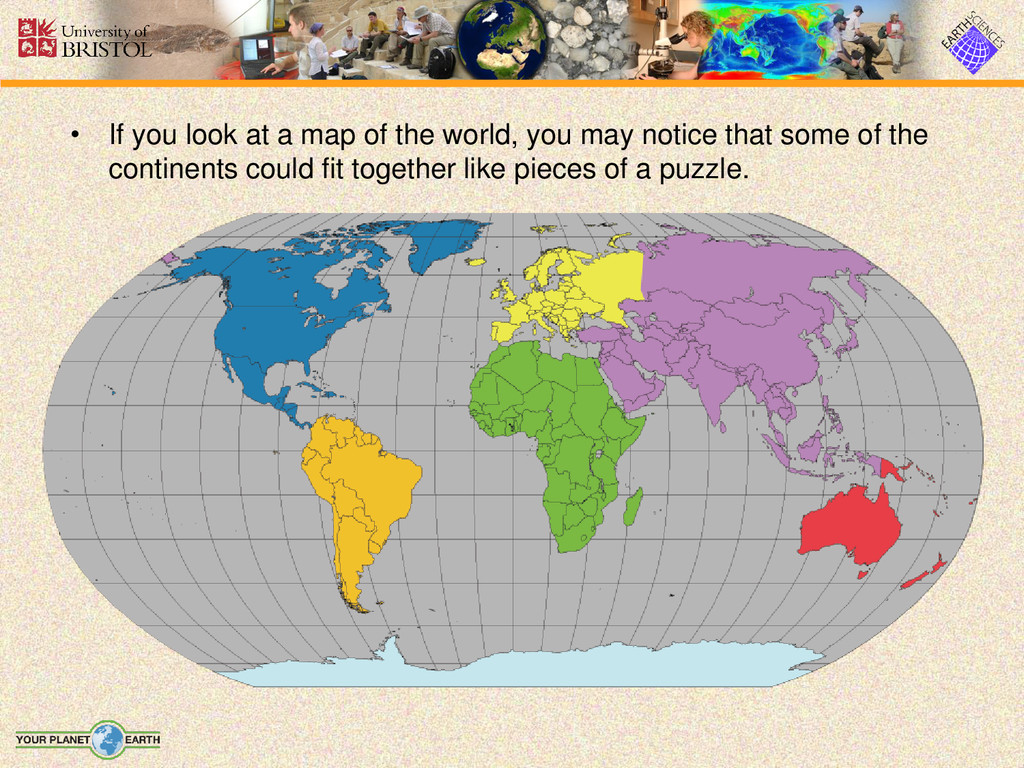 • If you look at a map of the world, you may no...
