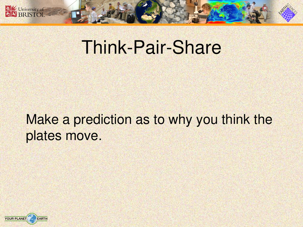 Think-Pair-Share Make a prediction as to why yo...