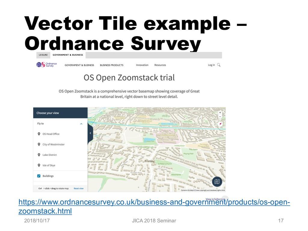Vector Tile example – Ordnance Survey 2018/10/1...