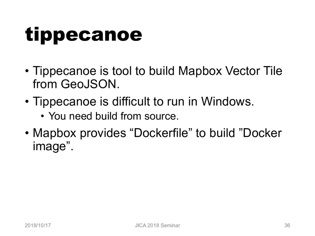 tippecanoe • Tippecanoe is tool to build Mapbox...