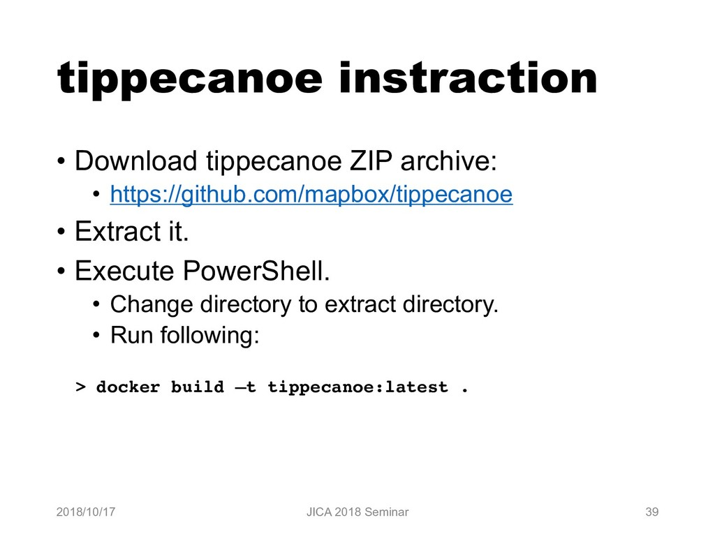 tippecanoe instraction • Download tippecanoe ZI...