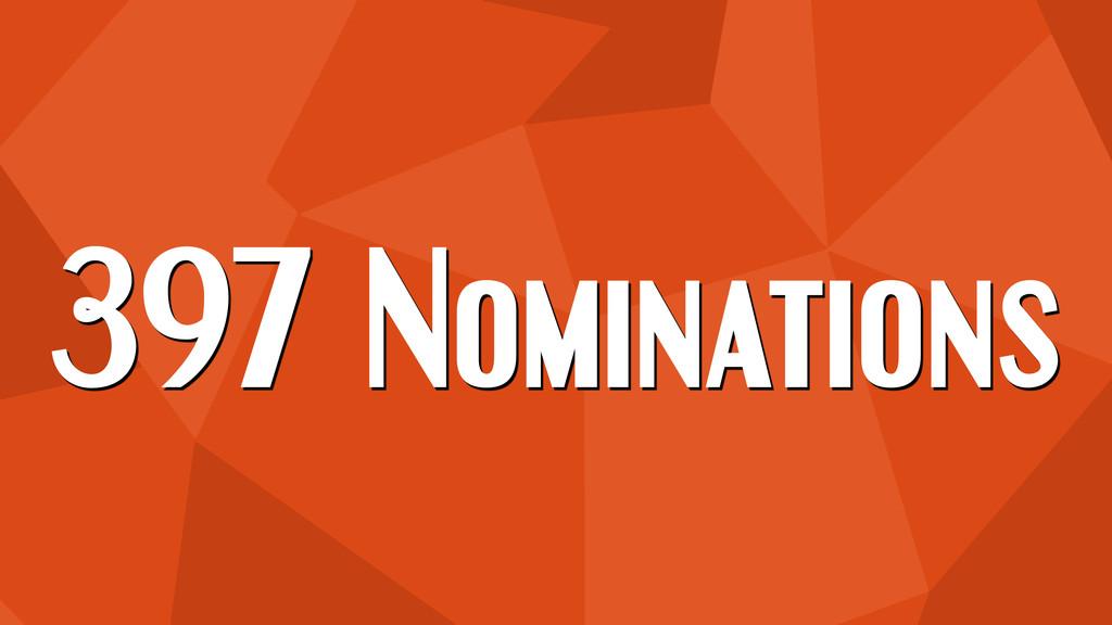397 Nominations