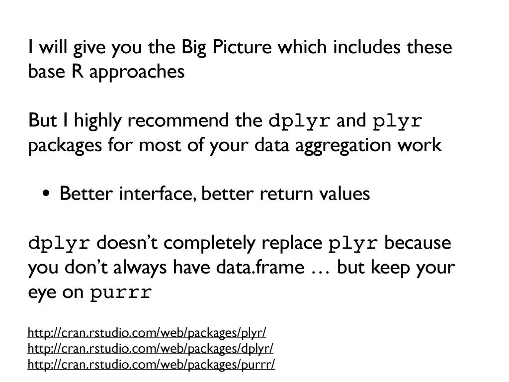 I will give you the Big Picture which includes ...