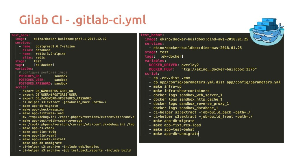 Gilab CI - .gitlab-ci.yml