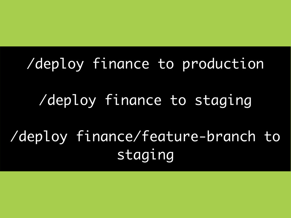 /deploy finance to production /deploy finance t...