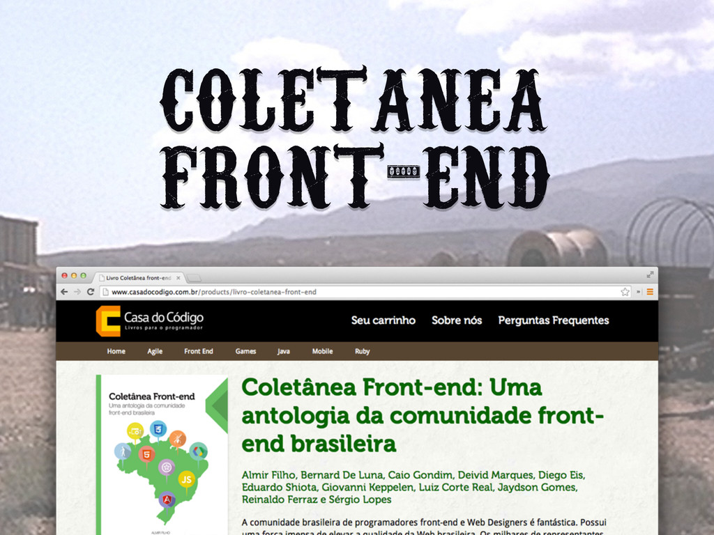 COLETANEA FRONT-END