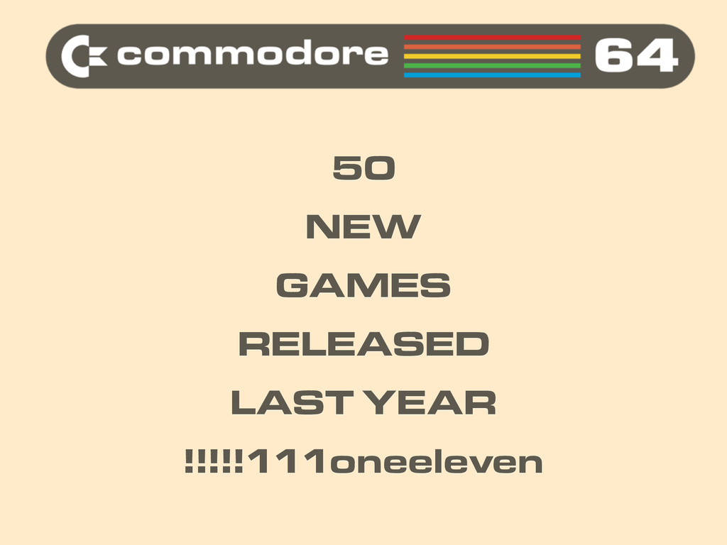 50 NEW GAMES RELEASED LAST YEAR !!!!!111oneelev...