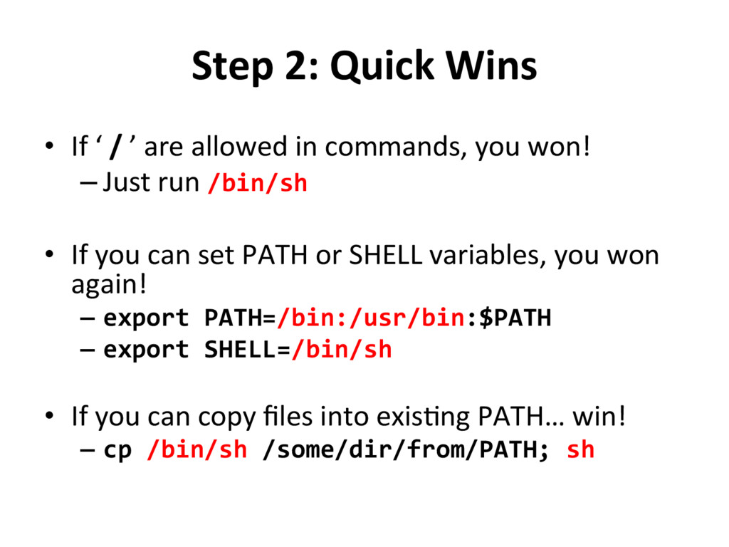 Step	