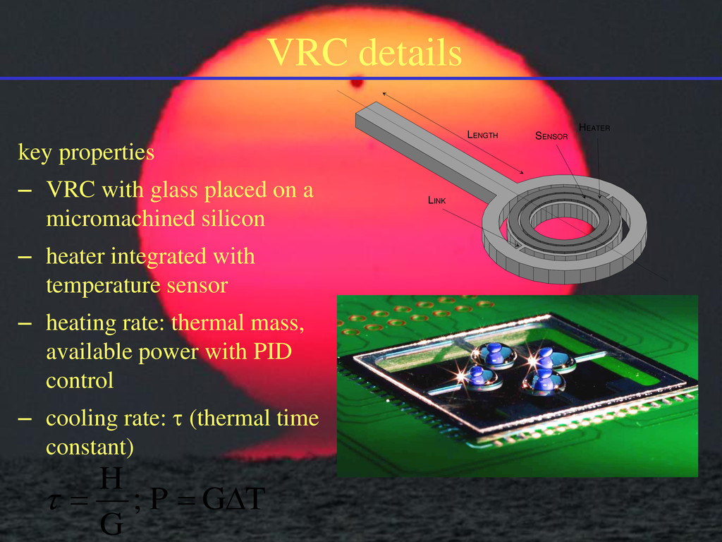 VRC details key properties – VRC with glass pla...