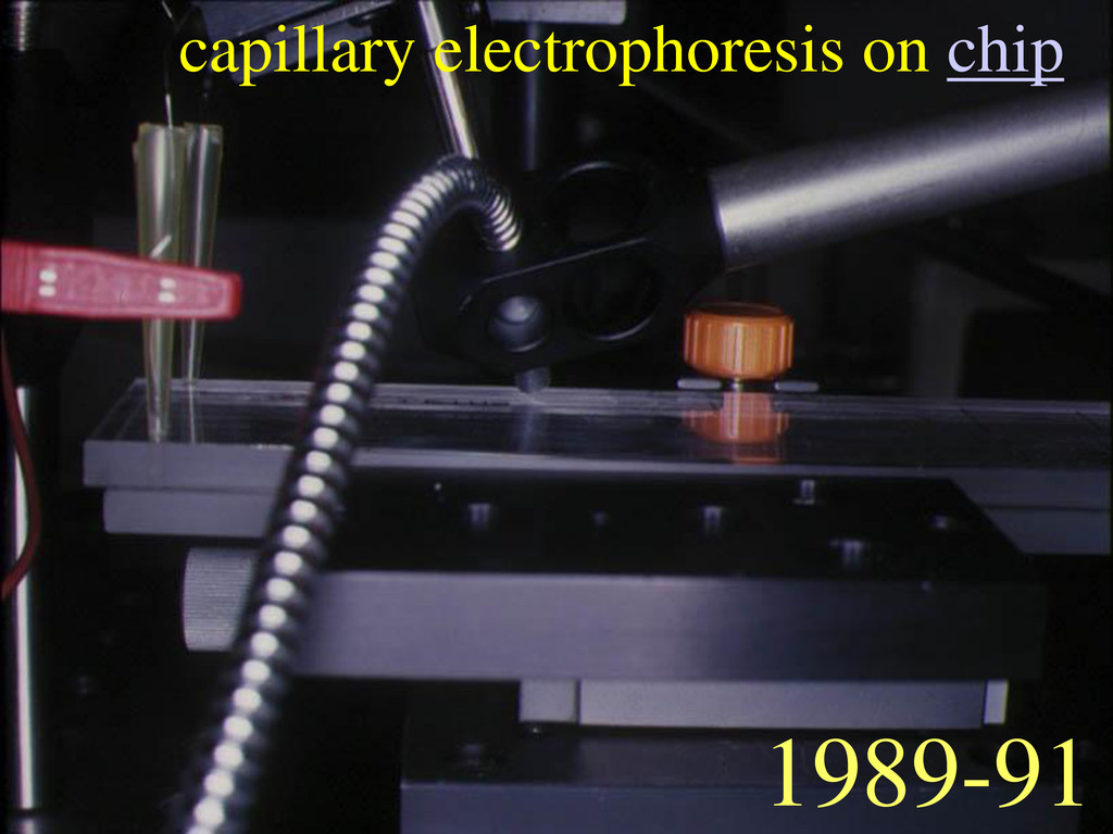 1989-91 capillary electrophoresis on chip