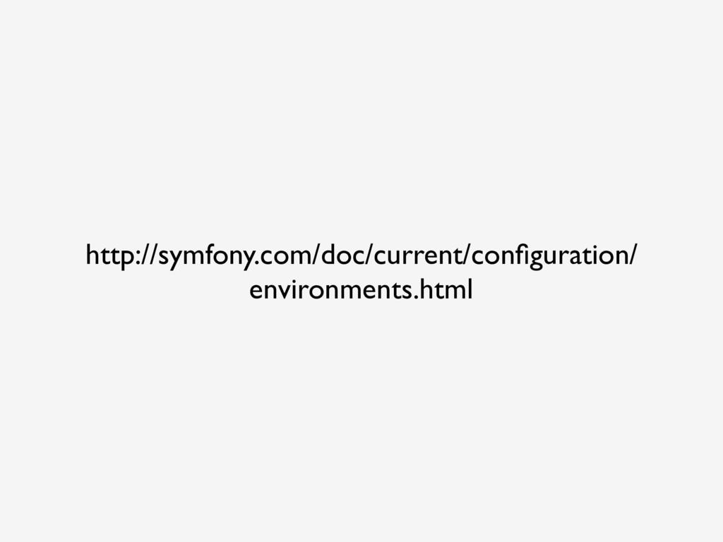 http://symfony.com/doc/current/configuration/ en...